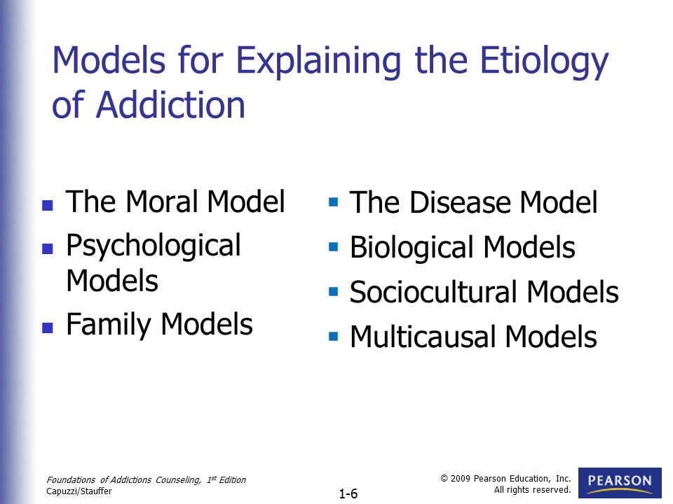 12 models of addiction Craving animal models of drug addiction mary c olmstead, editor section b: modeling stages of drug addiction in animals chapter 12: craving.