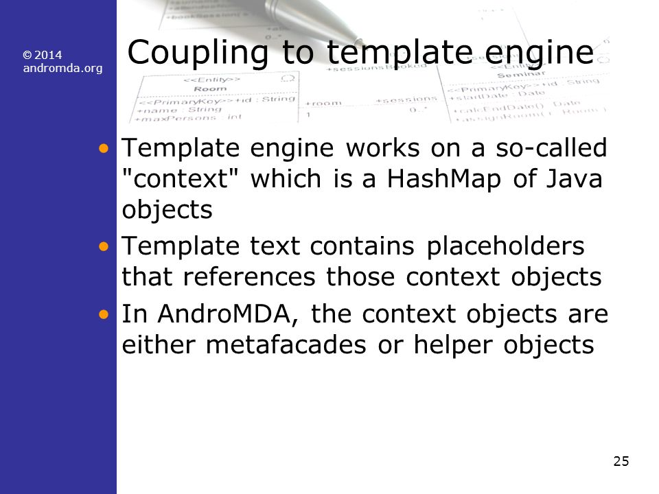 Andromda boot camp course material ppt download coupling to template engine pronofoot35fo Choice Image