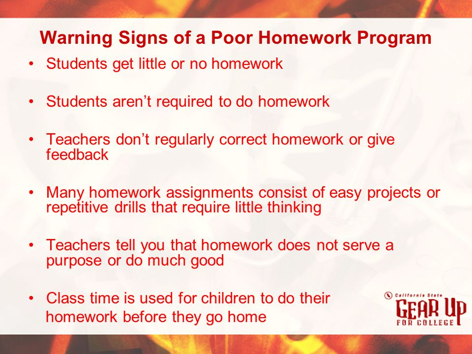 Does homework help students academically