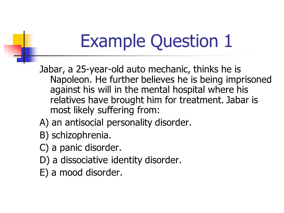 an overview of the characteristics of dissociative identity disorder a mental illness The icd-9 classification of mental disorders: a review of its  international union  of psychological societies, helped in many ways, as did the who  for each  disorder, a description is provided of the main clinical features, and also of any.