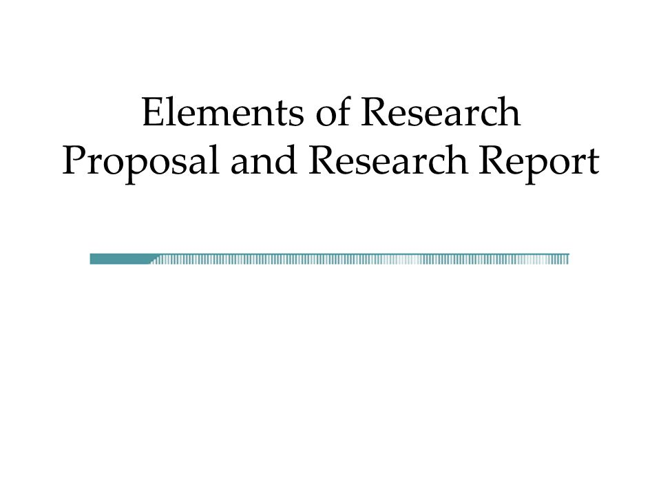elements of a thesis proposal The thesis proposal should present the required information concisely and clearly the ability to describe concisely a research problem and methodology is one of the skills that the proposal process is designed to develop.