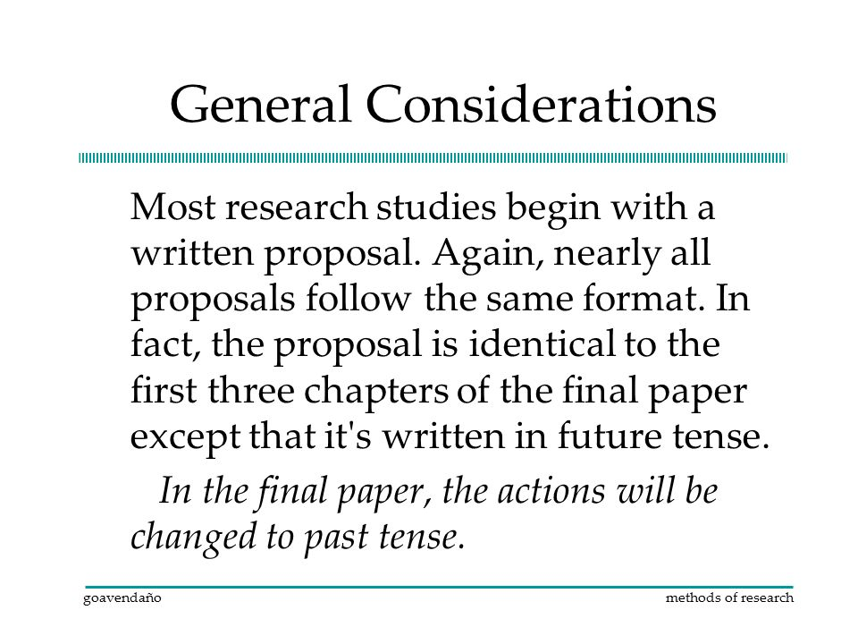 what tense are research papers written in Ii guidelines for writing research proposals and dissertations the following information presents guidelines for preparing and writing research papers and reports.