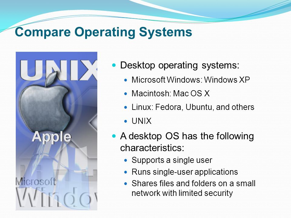 Comparison of operating system kernels