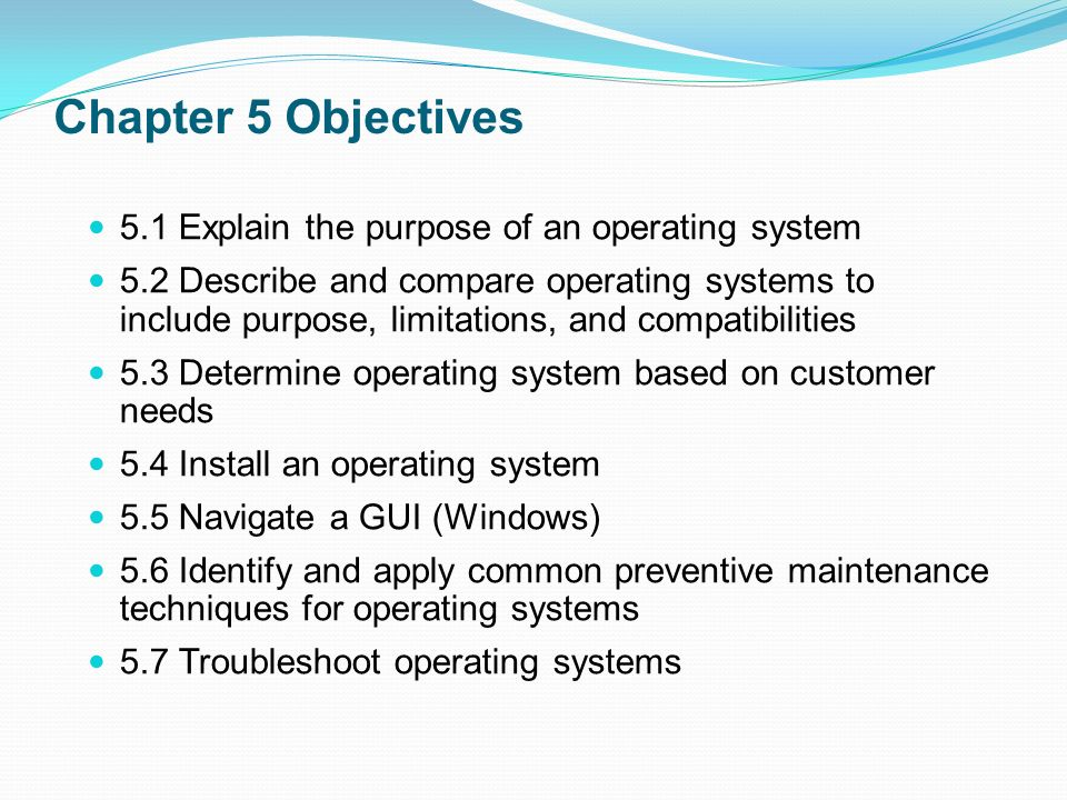 six objectives for using windows xp essay Use laps to automatically manage local administrator passwords on domain joined computers so that passwords are unique on each managed computer, randomly generated, and securely stored in active directory infrastructure  windows 10 , windows 7, windows 8, windows 81, windows server 2003, windows server 2008, windows server 2008.