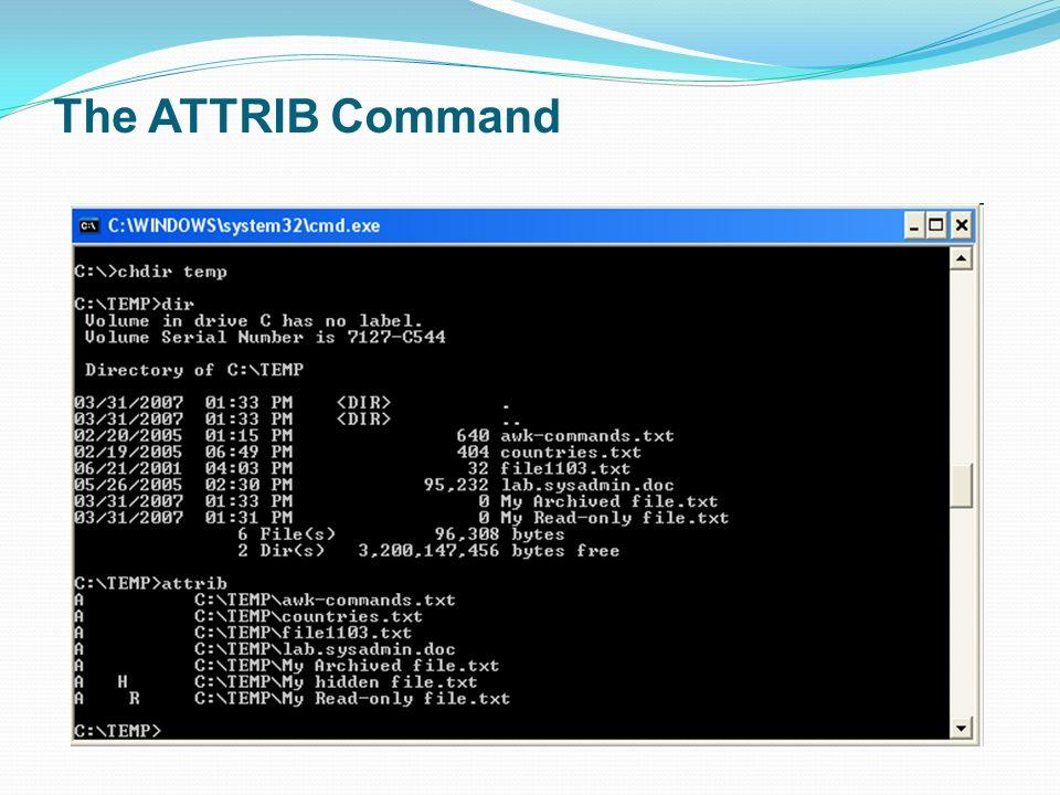 Show Hidden Files Using Attrib Command – Fondos de Pantalla