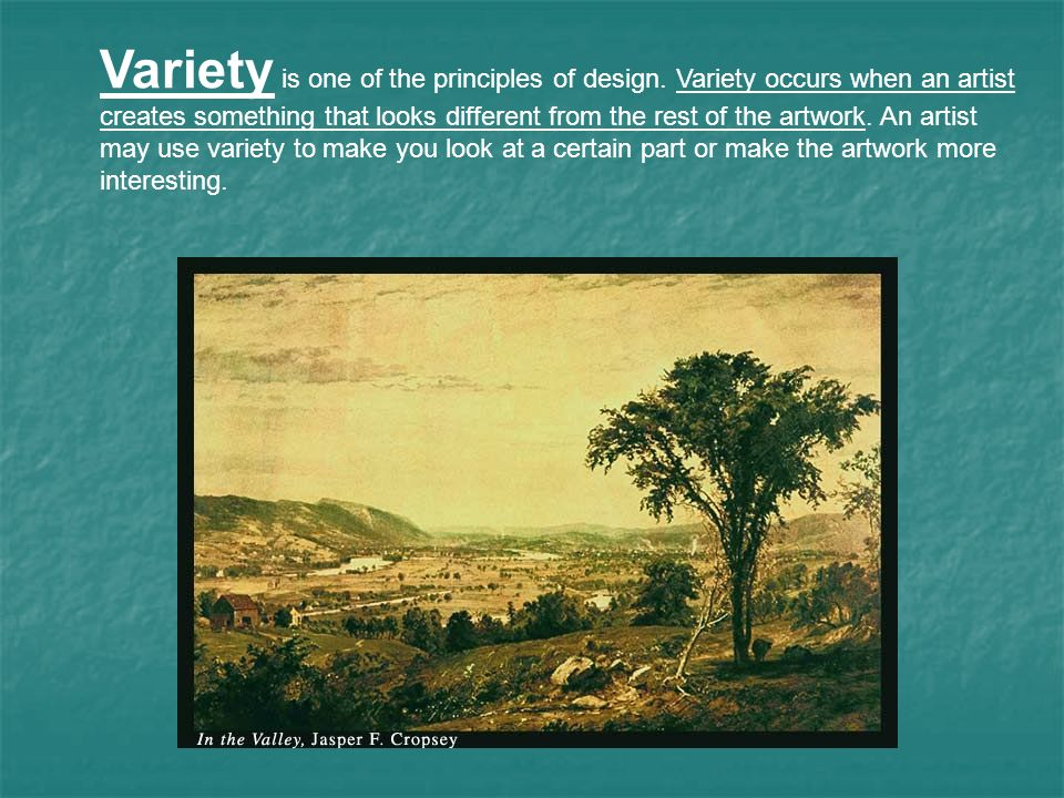 Variety In Principles Of Design : What are the elements of art ppt download