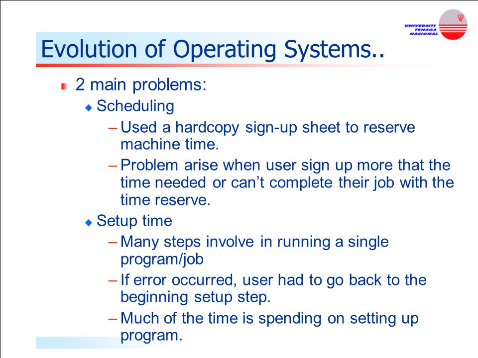 comparison of operating systems 3 operating systems operating systems • the operating system is the most important program that runs on a computer • operating system is an interface between computer.