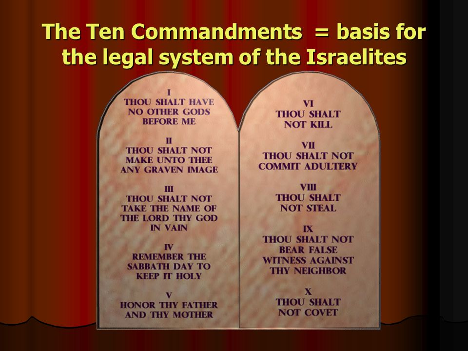 the israelites ppt video online download