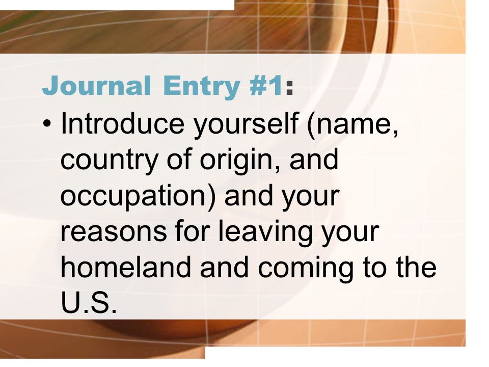 journal entry russian immigration Most states either require or recommend that you keep a record of your notarizations but how and when should you complete a journal entry here's what you need to know.