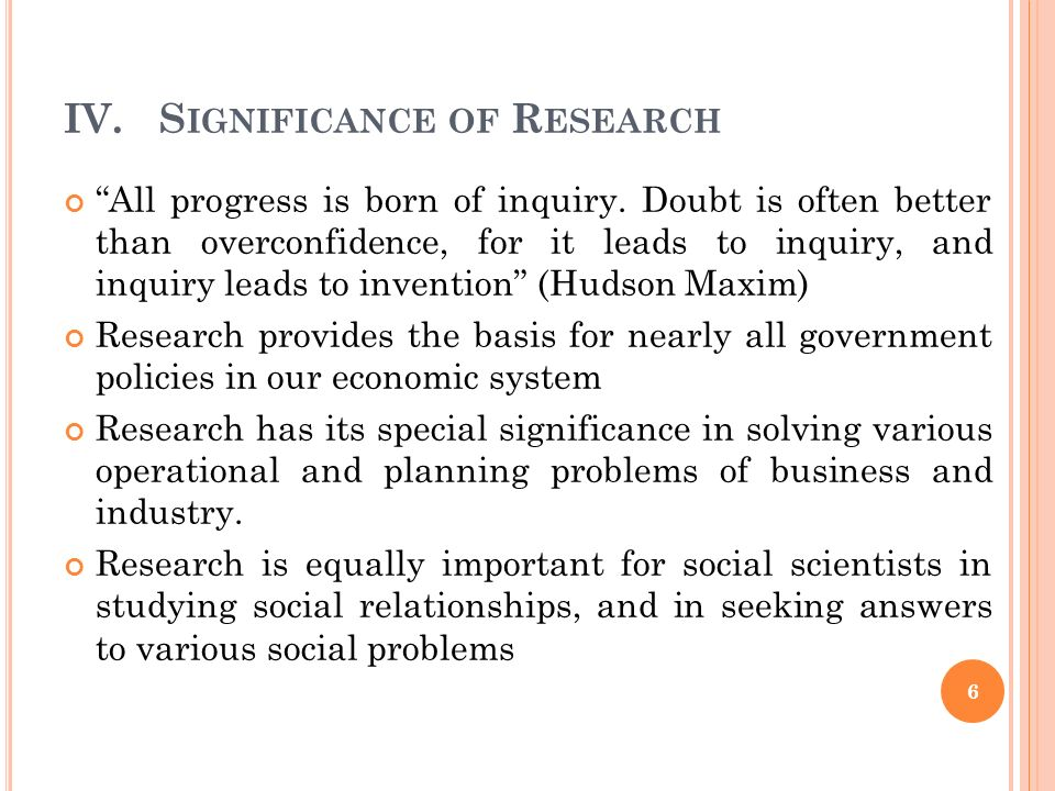 an introduction to the problem purpose and significance of study The significance of the study, also called the rationale, explains the significance of the work, the benefits that the research provides and its overall impact the purpose of the rationale is to explain to the audience what work the researcher is doing and why it is important in a broader context .