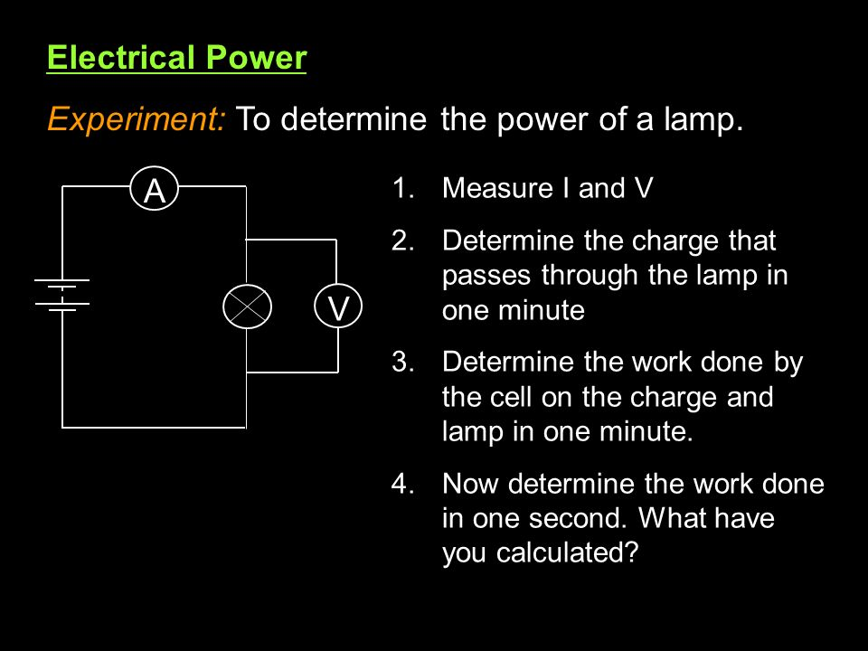 5.1 Electric potential difference, current and resistance - ppt ...