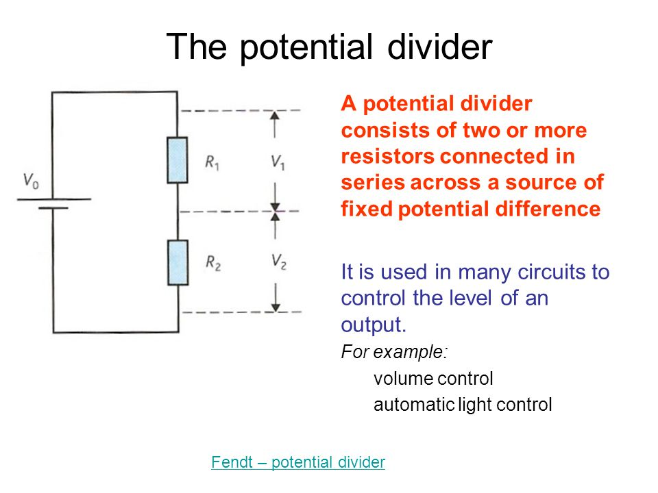 51 Electric potential difference current and resistance ppt