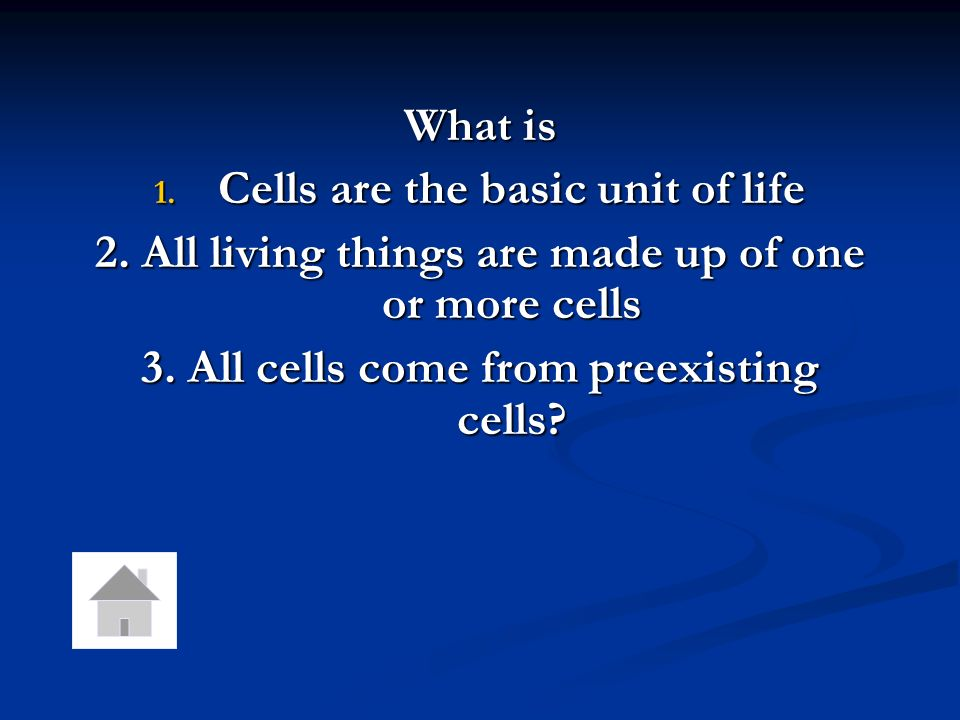 Cells are the basic unit of life