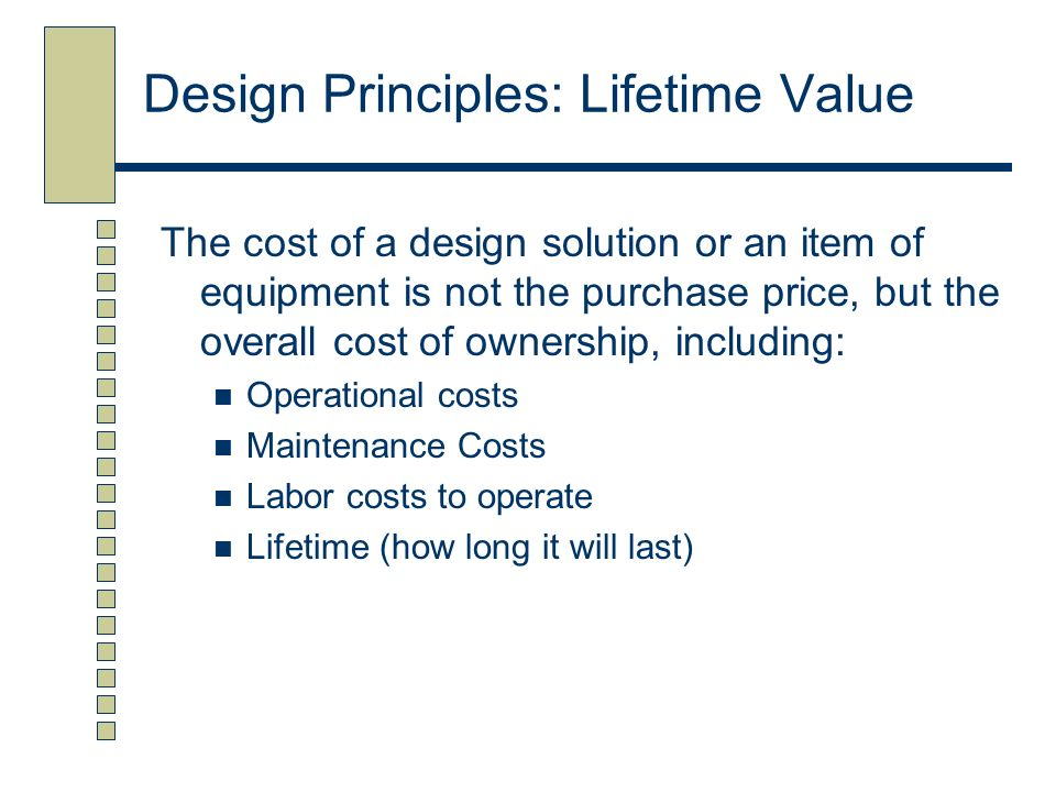 Principles Of Design Value : Design layout of foodservice facilities ppt video