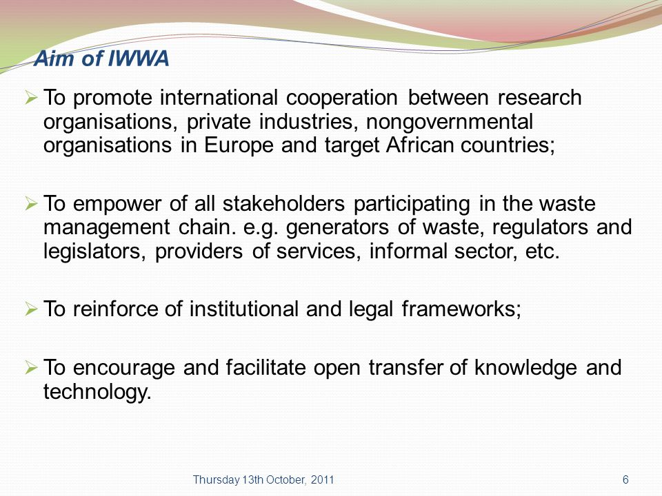 research topics on legal management of e waste The responsible electronics recycling act, introduced in the house of representatives and now before the us congress, would create a new category of restricted electronic waste that cannot be exported to developing countries.