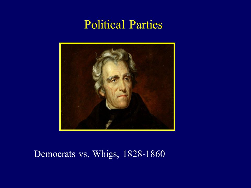Federalists vs Whigs: a possible outcome of both parties failing