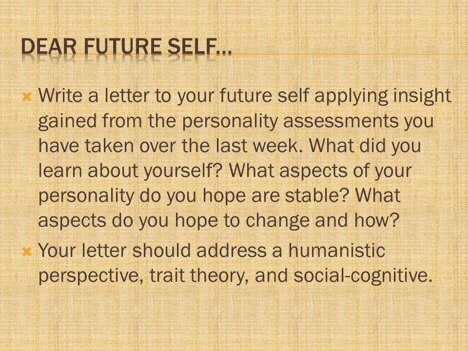 a letter to my future self as a high school graduate