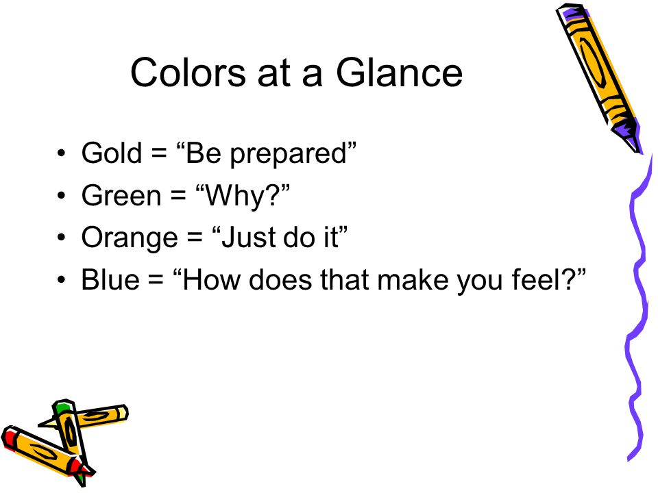 What are your true colors ppt video online download The color blue makes you feel