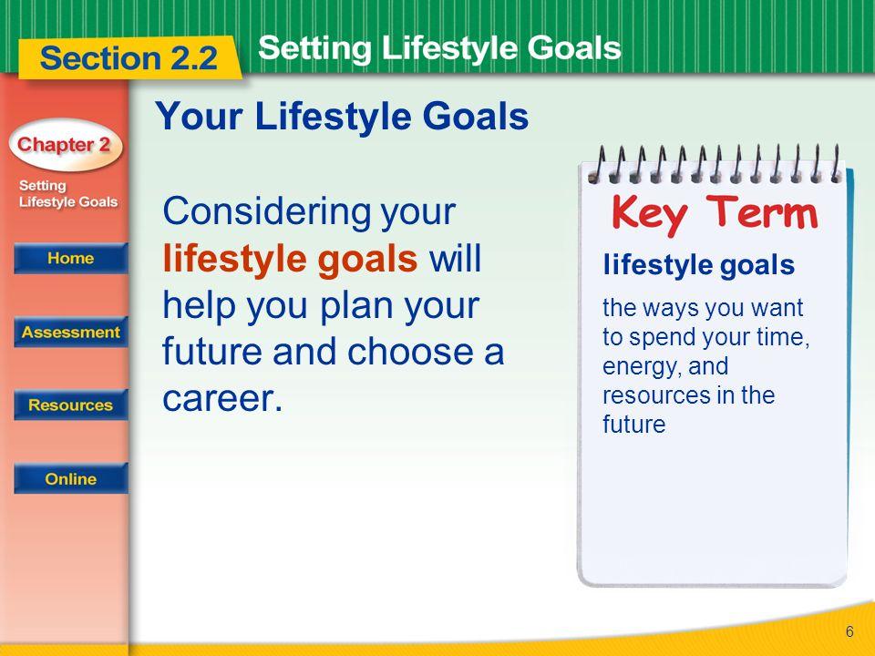 future career goals