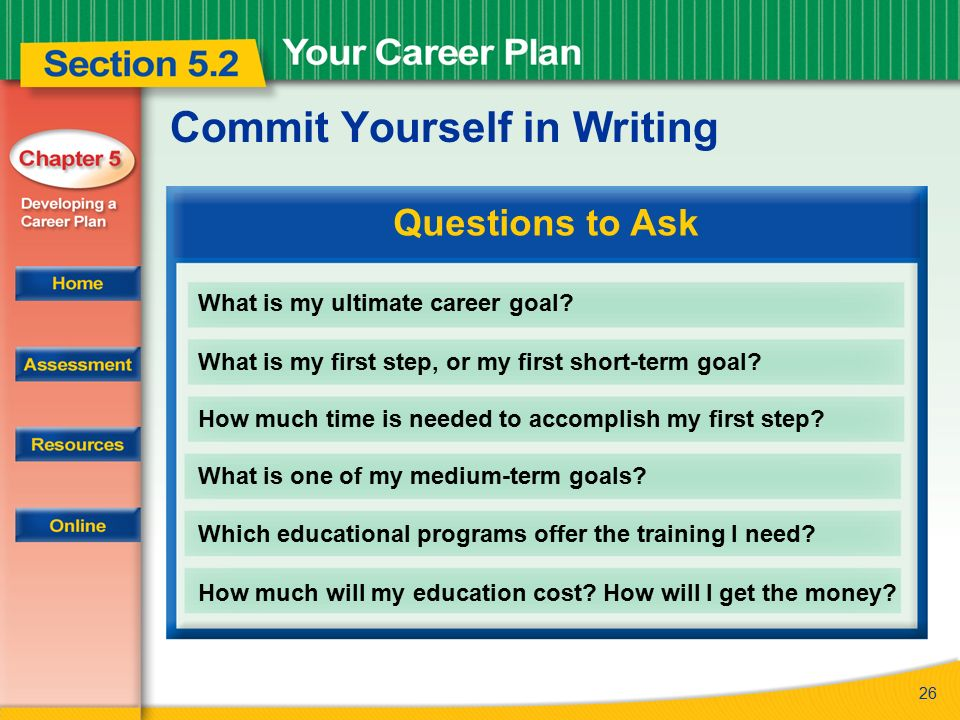 Read to Learn How to develop a career plan and set intermediate ...