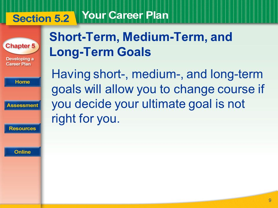 read to learn how to develop a career plan and set