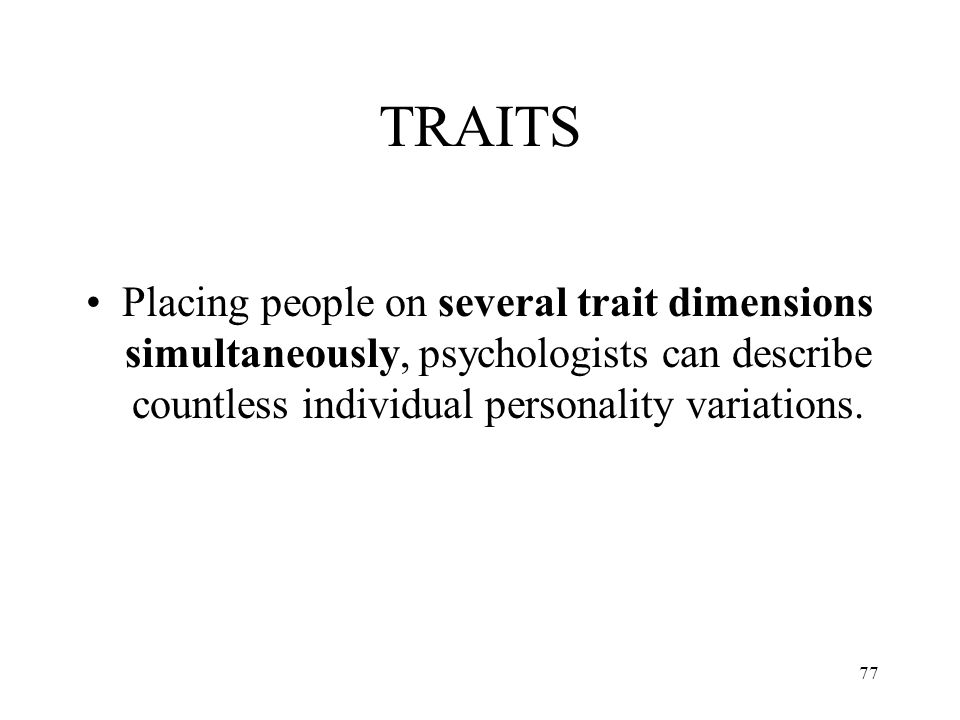 Cross-Cultural Studies of Personality Traits and their Relevance to Psychiatry