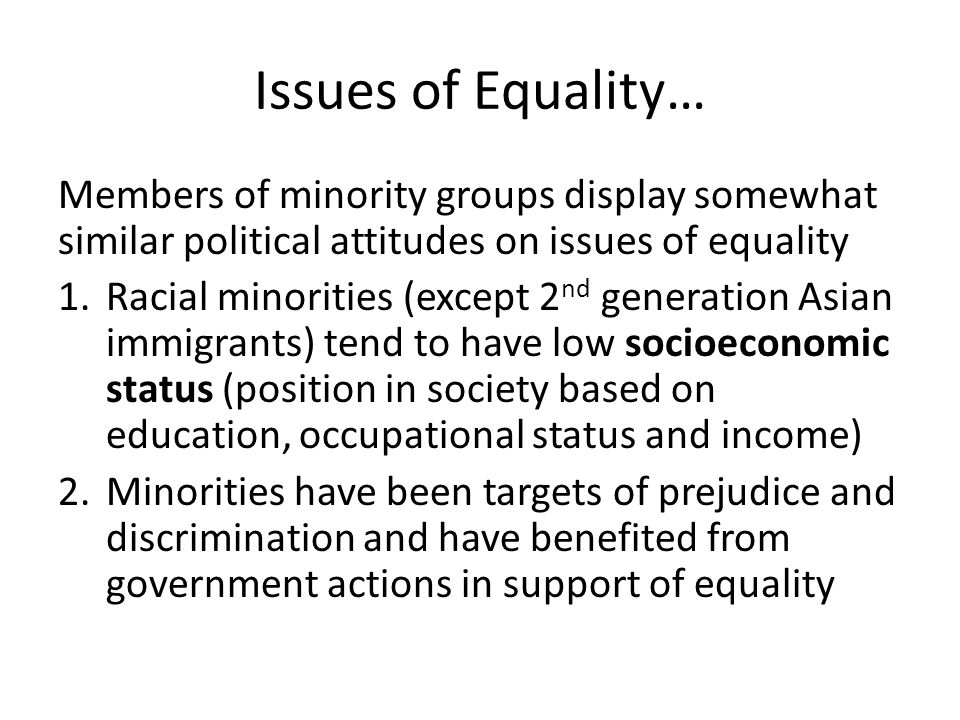 an analysis of social economy organizations and the discrimination of racial minorities The economic and social council's agreed conclusions 1997/2 and preparations for the third world conference against racism, racial discrimination, xenophobia and related intolerance, which will  an illustration of this under-inclusive analysis of racial discrimination is the sterilization, in some countries, of  take a proactive role in ensuring that women belonging to racial and ethnic minorities be fully protected in their enjoyment of all human rights.