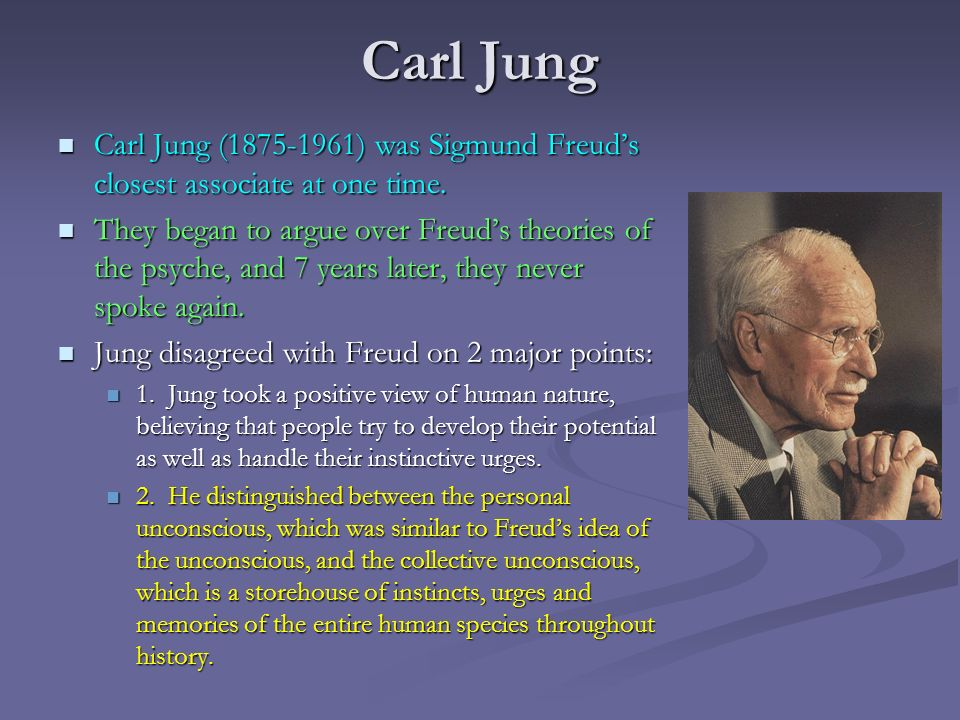 carl jung and his theories essay View and download carl jung essays examples also discover topics, titles, outlines, thesis statements, and conclusions for your carl jung essay.