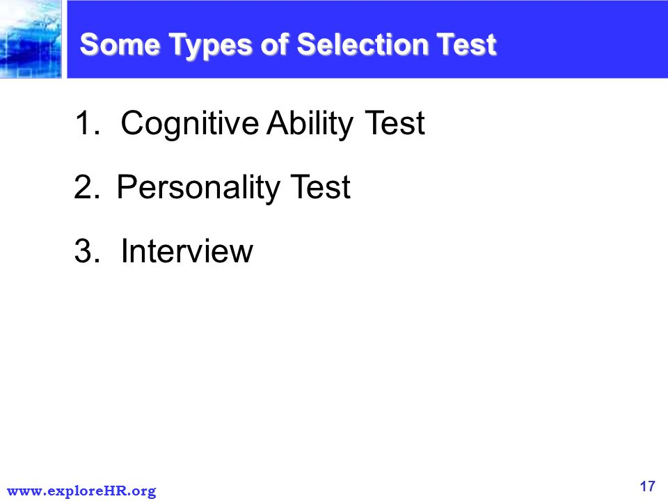 personality questions for interview