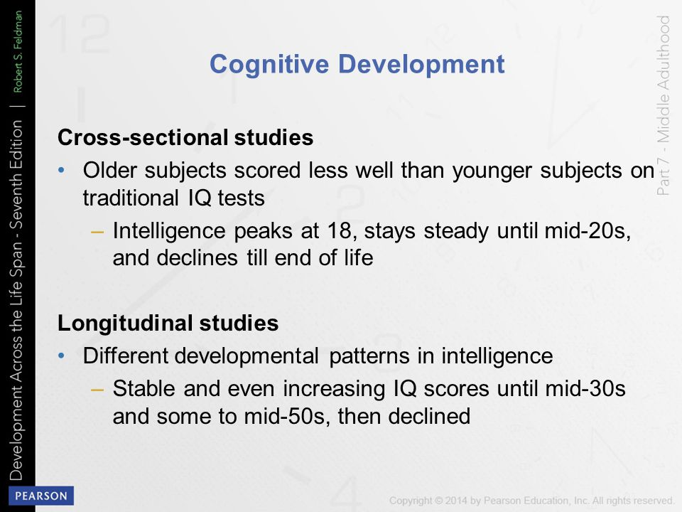 cognitive development in middle adulthood pdf