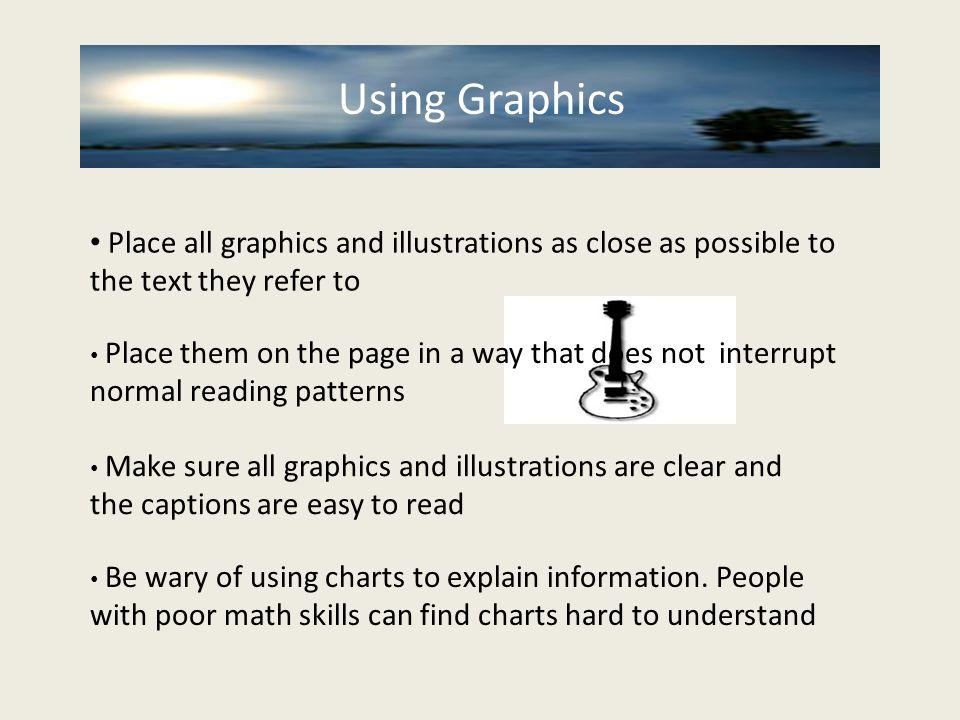 Using Graphics Using Graphics