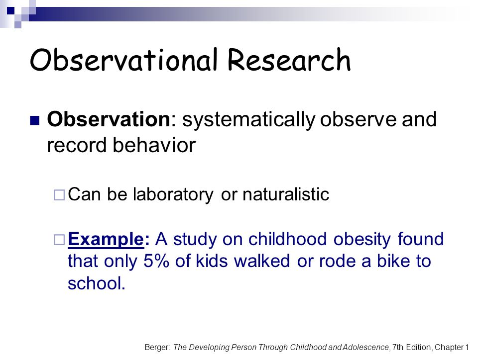 observation research on adolescence Free child observation papers, essays, and research papers.