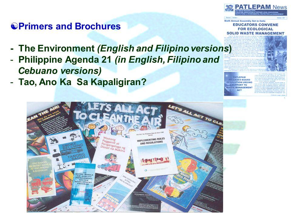 Initiatives from the environmental management bureau emb for Bureau tagalog
