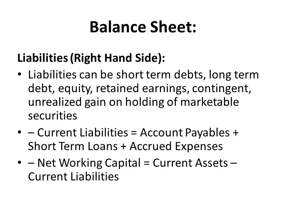 an analysis of the short term financing and the capital equipments Financial analysis is an aspect of the overall business finance and the approval of capital such as accounts payable, short-term loans, and.