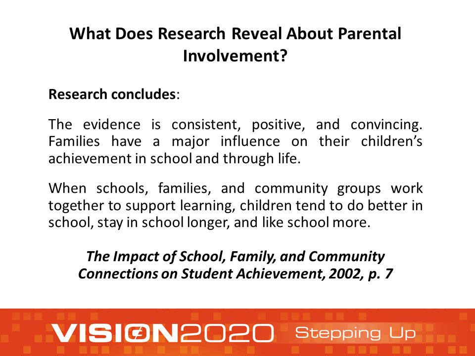 effect of low income school on parent involvement article Parental involvement - multiple behaviors and practices including: communication with children about school, participation in school activities, communication with teachers, and behaviors at home regarding educational-related topics.