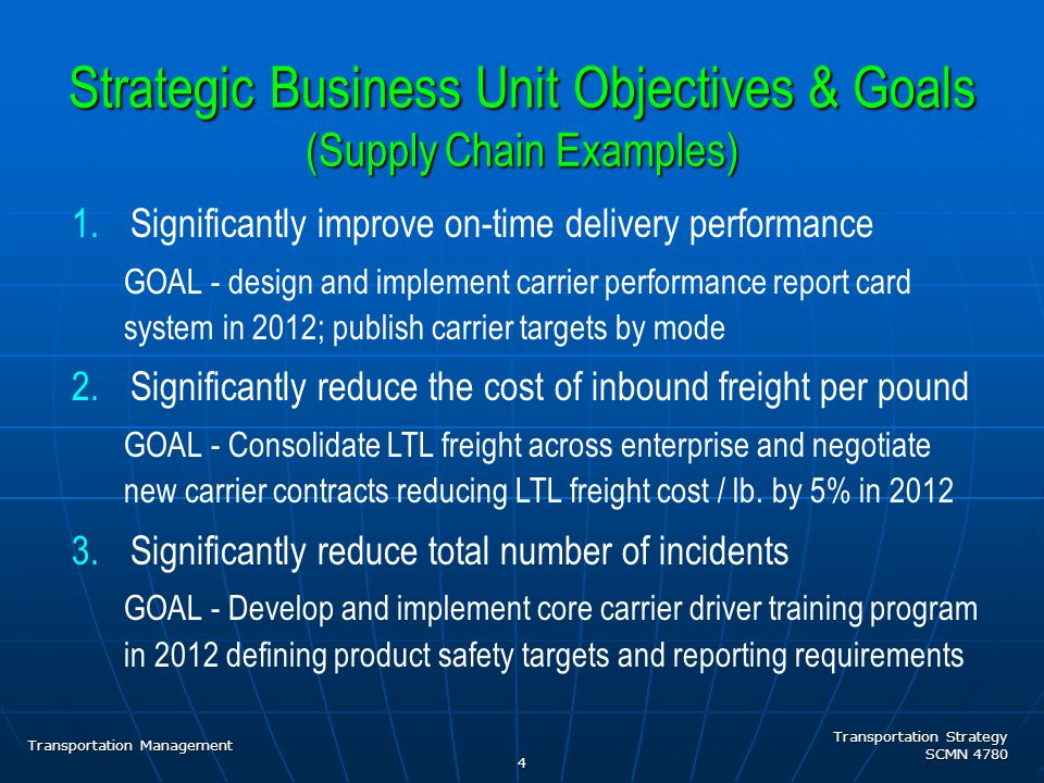 supply chain objectives The 2018 gartner supply chain management conference is the world's most important gathering of senior supply chain executives the gartner supply chain executive conference is the world's most important gathering of senior supply chain align supply chain priorities to business objectives.