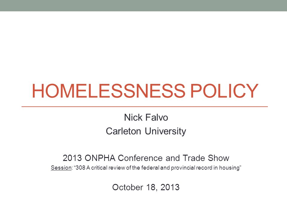 2013 ONPHA Conference and Trade Show