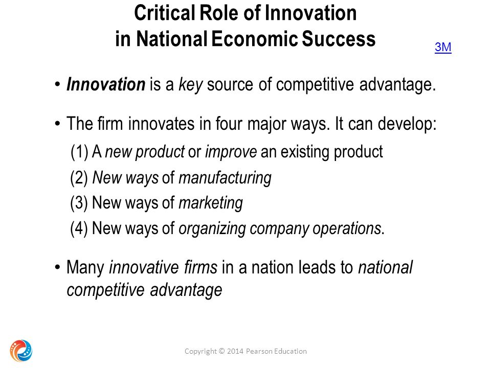 why innovation is critical to success Three reasons strategy is important robynne berg - monday, september 12, 2011 delivering a strategic plan is one of the most important things any organization, regardless of size can undertake a well-formulated and executed strategy establishes the foundations against which the organization can create, monitor and measure their success.