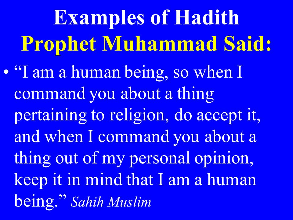 """hadith is what prophet muhammad said religion essay 1375 quotes have been tagged as islam: jalal ad-din rumi: 'knock, and he'll  open the  """"muhammad has always been standing higher than the christianity   and insecurity of property exist wherever the followers of the prophet rule or  live  and my purpose in life-despite what fashion magazines say-is something  more."""