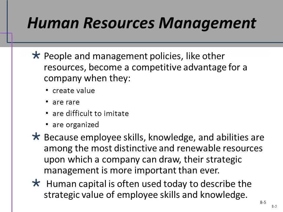strategic human resource management is powerful and influential What is the importance of management in the modern business world need for optimum utilization of scarce resources management is equally important at the national level management provides human satisfaction management makes all the difference in the quality of life between nations.