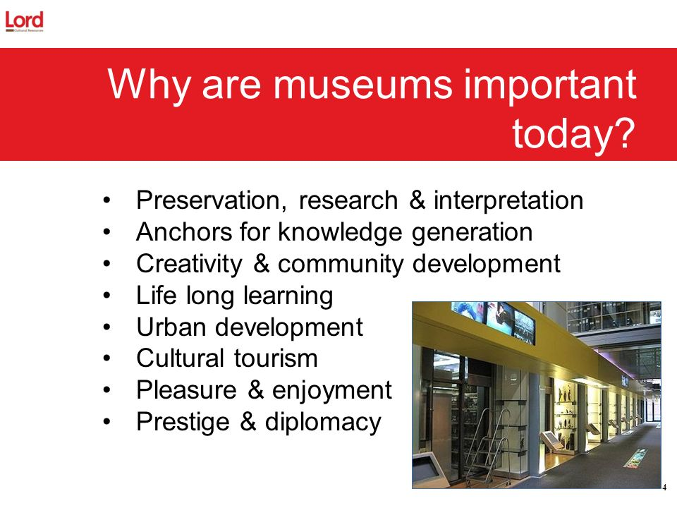 Why are museums important today