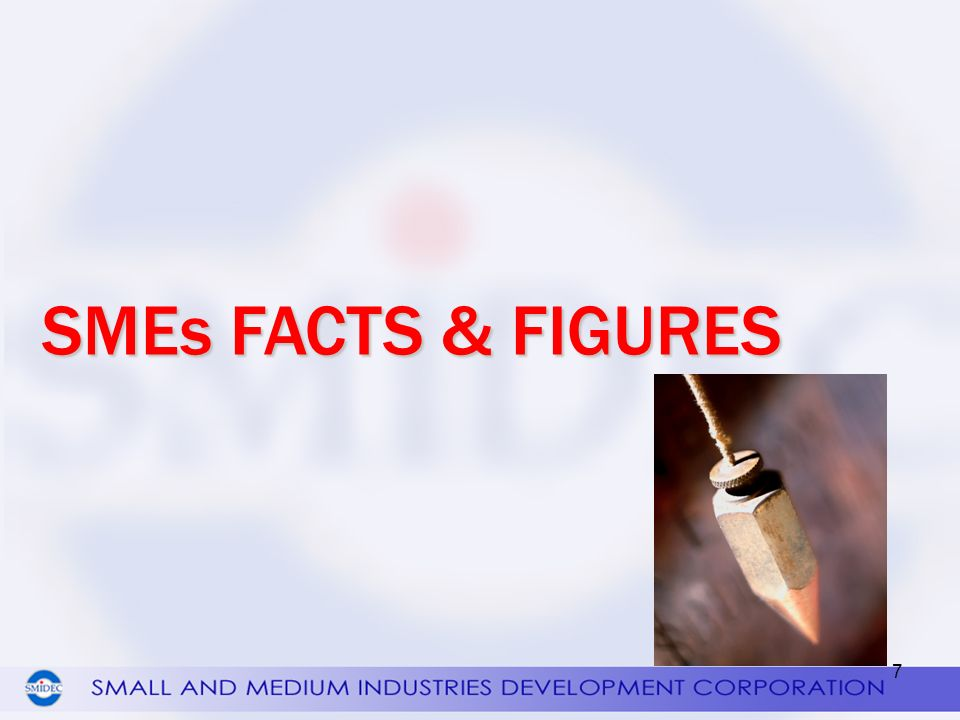 SMEs FACTS & FIGURES