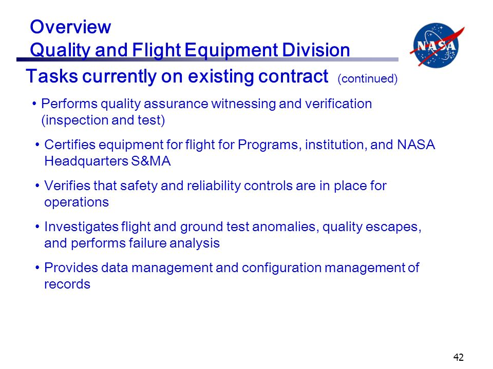 an analysis of the role of nasa in aviation safety Nasa aviation safety program weather accident prevention/weather information  improving aviation safety nasa glenn research center (grc)  an analysis of the.