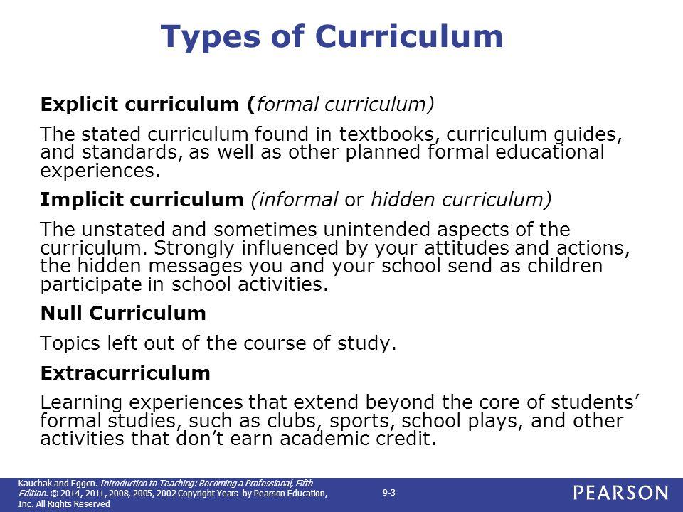 hidden curriculum essay