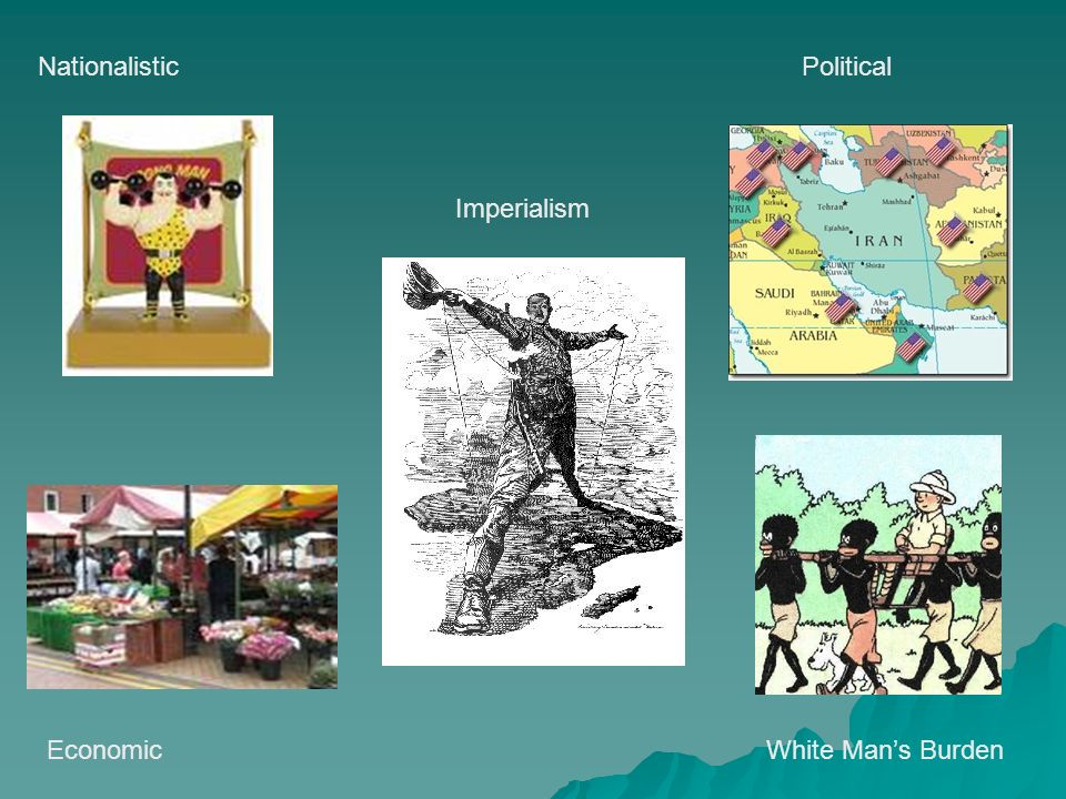 economic reasons for imperialism So, without underestimating the economic reasons, which are keys to understanding imperialism, we should focus our attention on other factors the nineteenth century was the century of nationalism 4 eso - colonialism and imperialism 3.