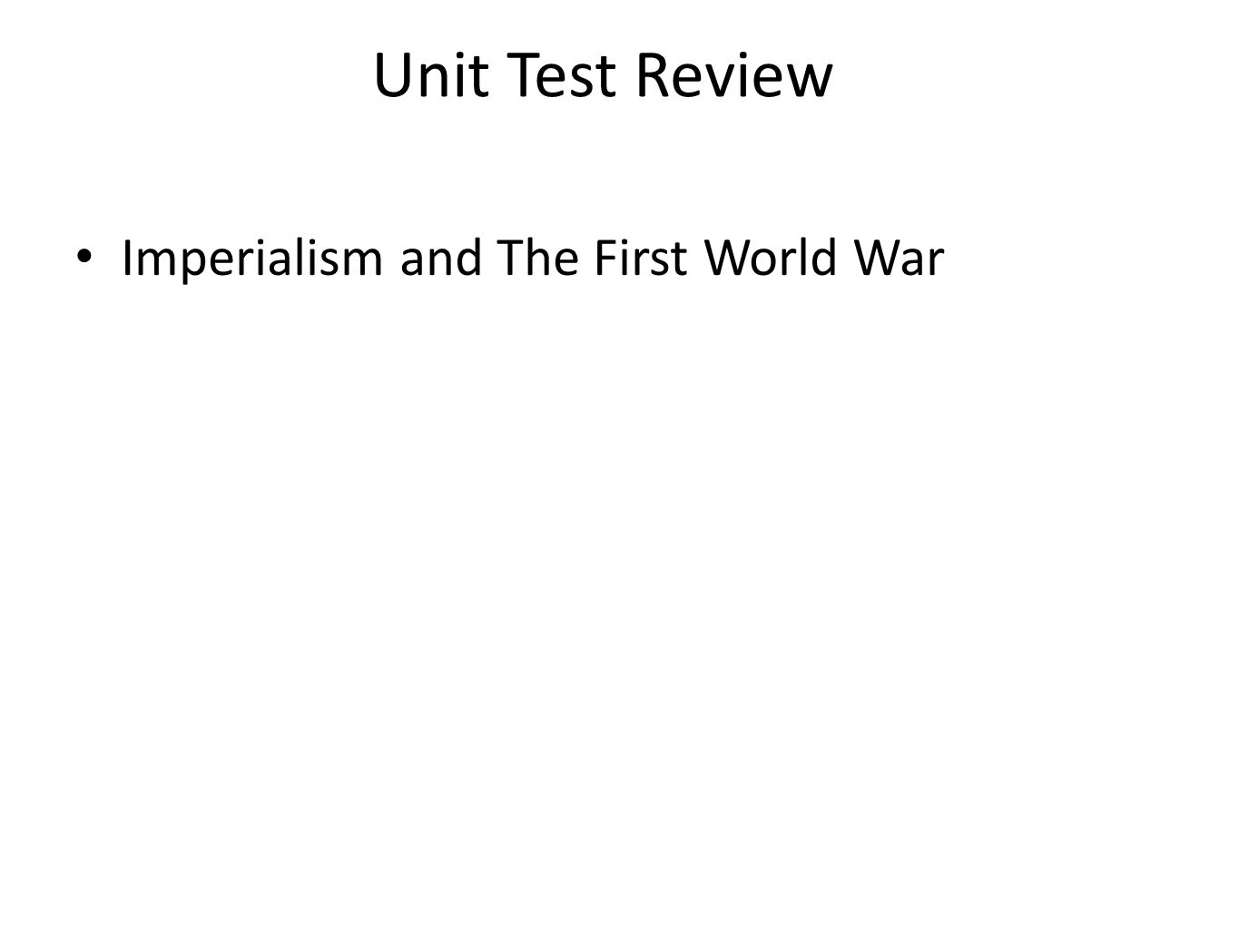 world war two unit test review Unit 9: world war ii exam study guide european battle maps ww2 maps (for causes of the war)  final exam review courses you are currently using guest access.