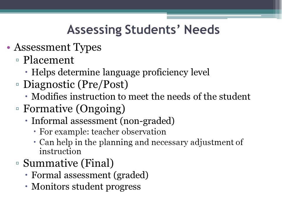 Efl Teaching And Assessment  Ppt Video Online Download