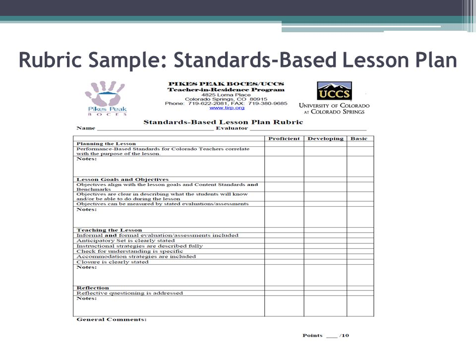 EFL Teaching And Assessment Ppt Video Online Download - Standards based lesson plan template