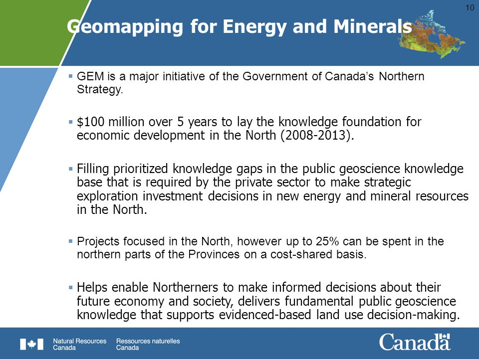 Geomapping for Energy and Minerals