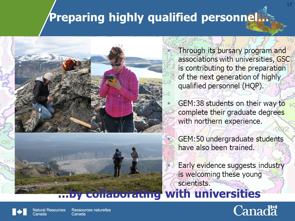 Preparing highly qualified personnel…